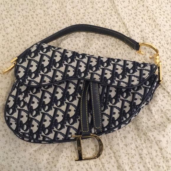 22f7ad9ff08012 Dior Bags | Authentic Vintage Saddle Bag | Poshmark